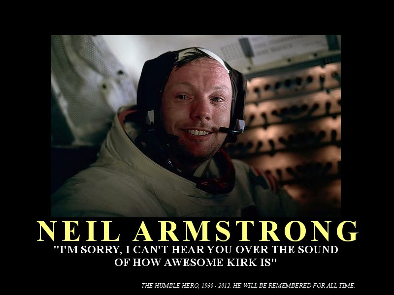 Neil Armstrong Motivational Poster