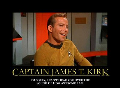 Kirk Motivational Poster
